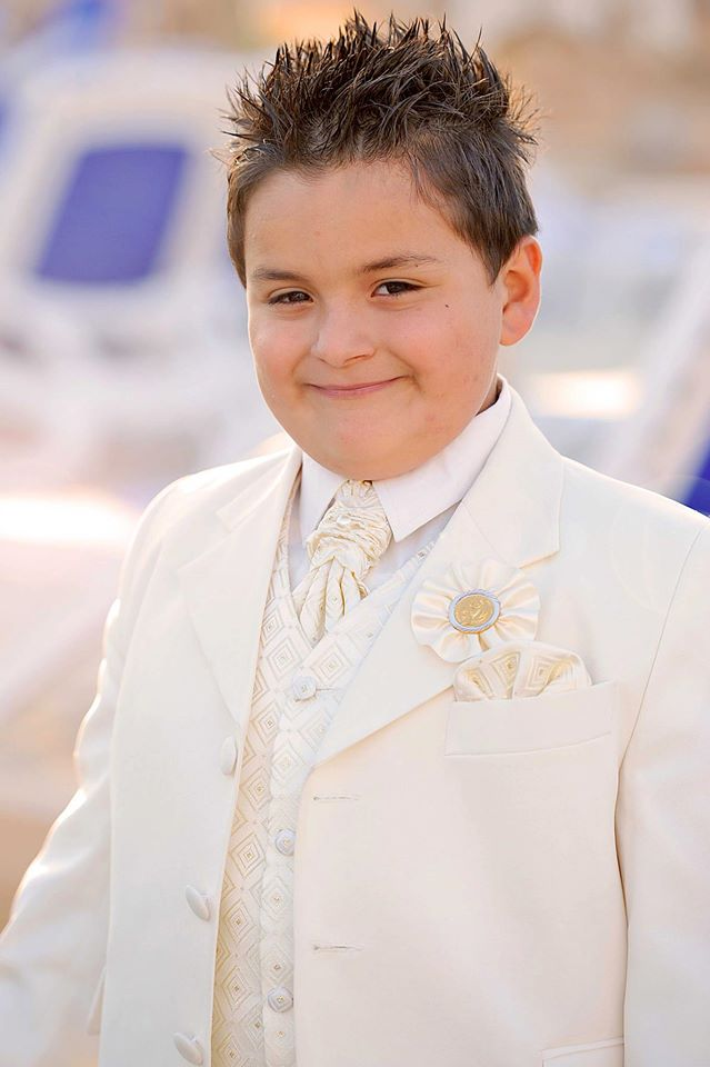 In may 2013 jean had his first holy communion it was such a special